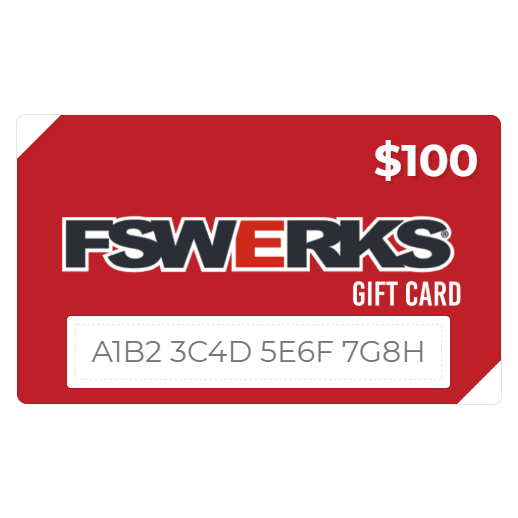 FSWERKS E-Gift Card (You Choose Value)