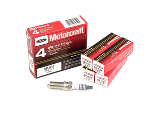 Ford Motorcraft Motorcraft SP-537 Iridium Spark Plugs - Ford Focus ST 2013-2015/Ford Mustang 2015 2.3L Ecoboost - 1