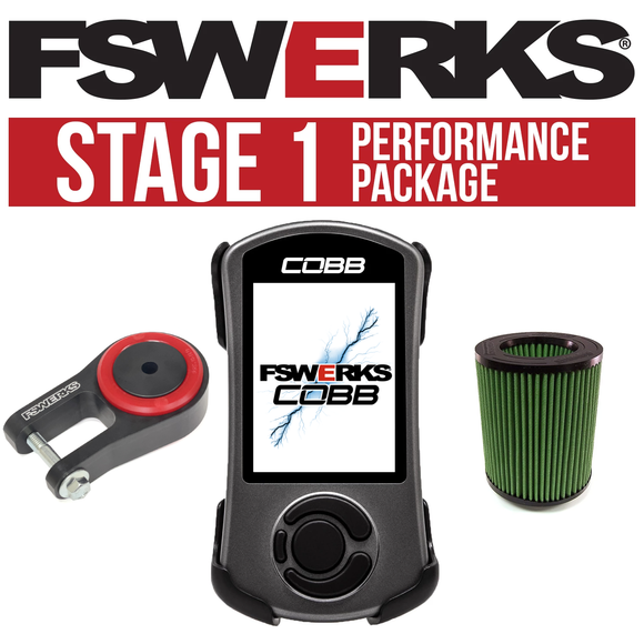 FSWERKS Stage 1 Performance Package - Ford Focus ST 2013-2018