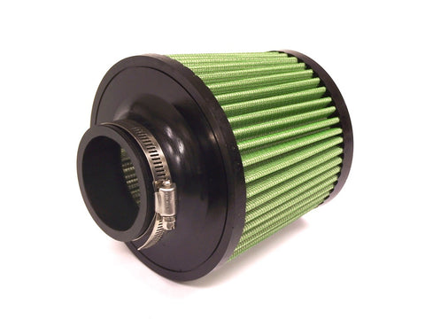 Green Filter Green Filter High Performance Cone Air Filter - Replacement for Fiesta Intakes - 1