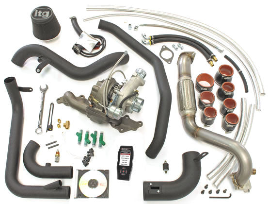 FSWERKS FSWERKS Stage 1 & 2 Turbocharger Kit - Ford Focus 2.0L Duratec 2005-2007 - 1