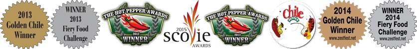 Hot Pepper Awards 2012 | Golden Chile & Fiery Foods 2013/2014