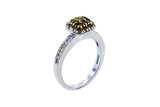 Anillo de Oro 18k con 0.52CTW Diamantes VS1