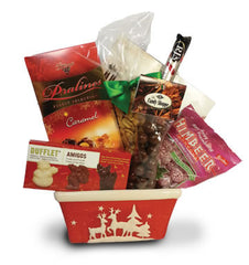 Dasher & Dancer Christmas Gift Basket
