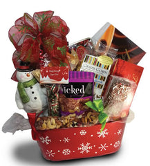 Let It Snow Christmas Gift Basket