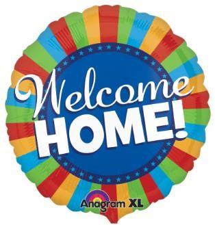 """Welcome Home"" Balloon"