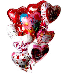 Hearts A Flutter Balloon Bouquet