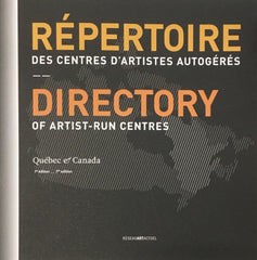 Directory of Artist Run Centres
