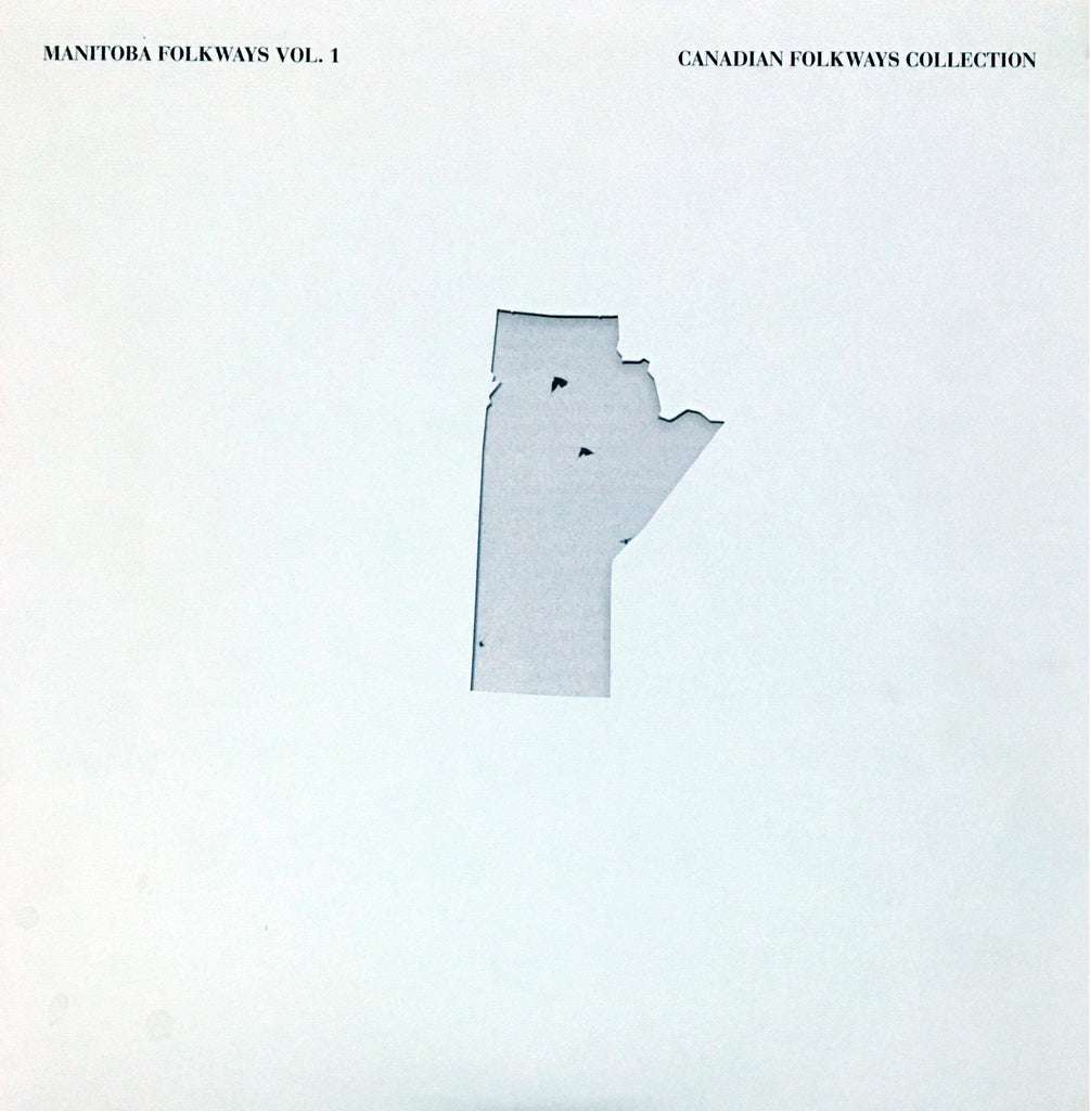 Manitoba Folkways record