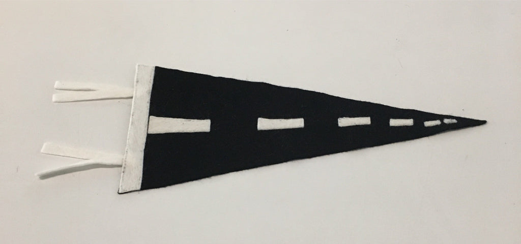 Matt King 'Life' (felt flag)