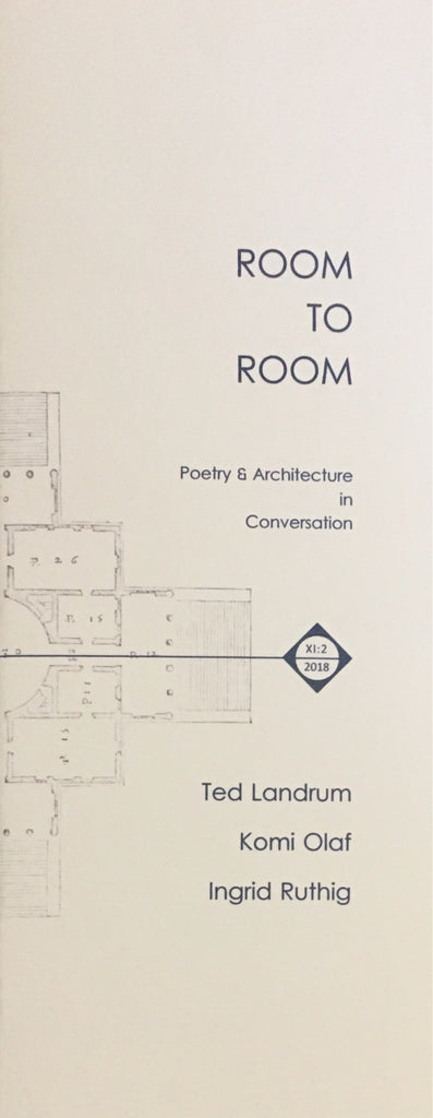 Room to Room: Poetry & Architecture in Conversation