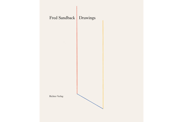 Fred Sandback - Drawings