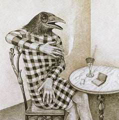 The Talking Crow: Michael Boss and Diana Thorneycroft