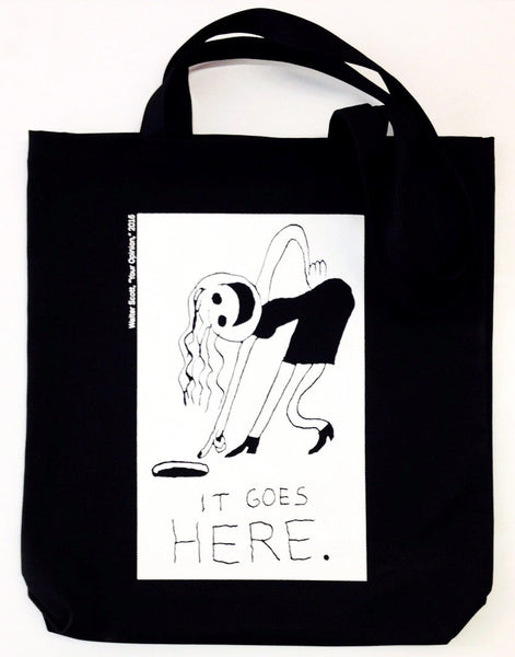 Walter Scott Tote Bag
