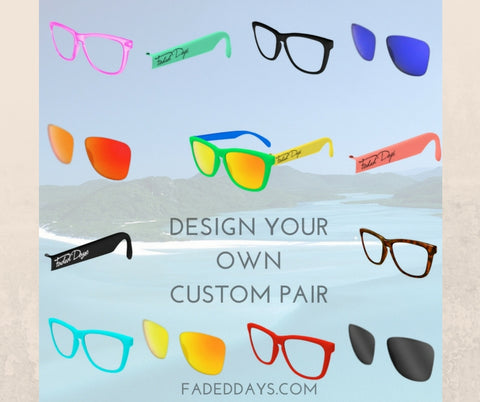 Design your own sunglasses