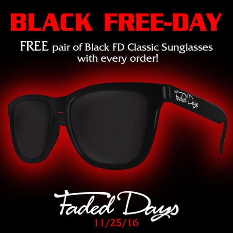 Black Friday sunglasses offer