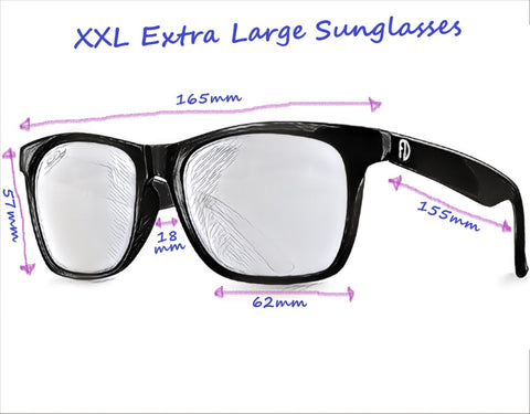 Sunglasses for wide faces