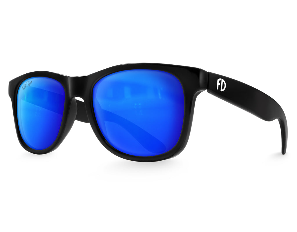 Black Ice Large Frame Sunglasses