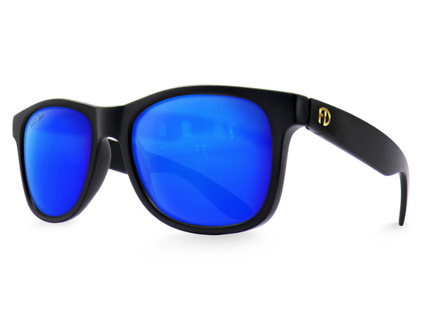 Polarized Black Ice Large Frame Sunglasses