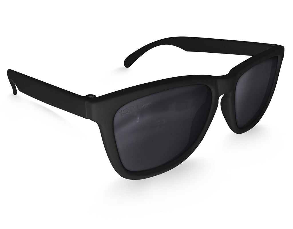 Black Classic Sunglasses - Faded Days