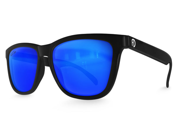 Black Ice Mirrored Sunglasses