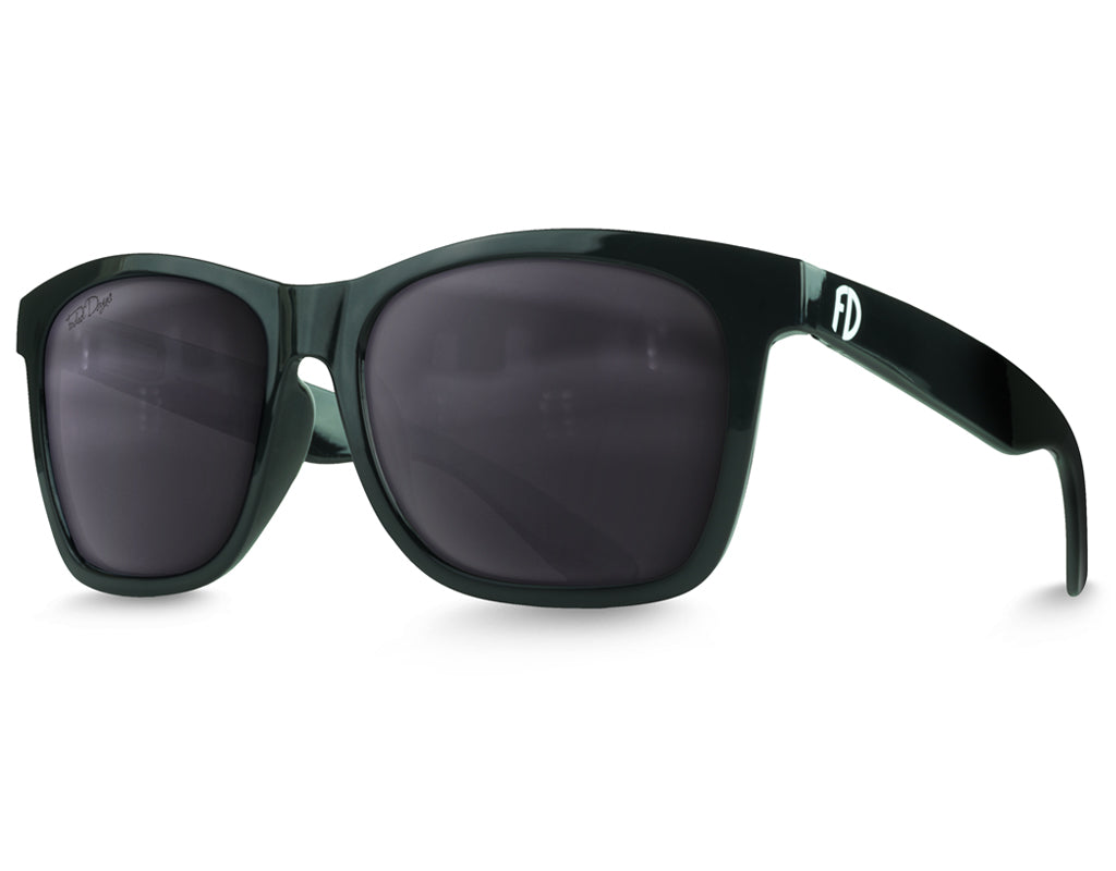 Extra Large Black Polarized Sunglasses