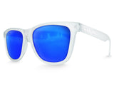 Clear Haze Ice Mirrored Sunglasses - Faded Days