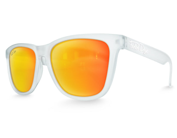 Clear Haze Solar Mirrored Sunglasses