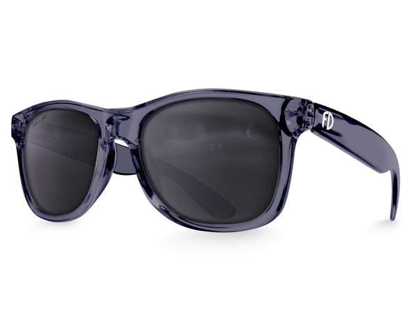 Crystal Slate Large Frame Sunglasses