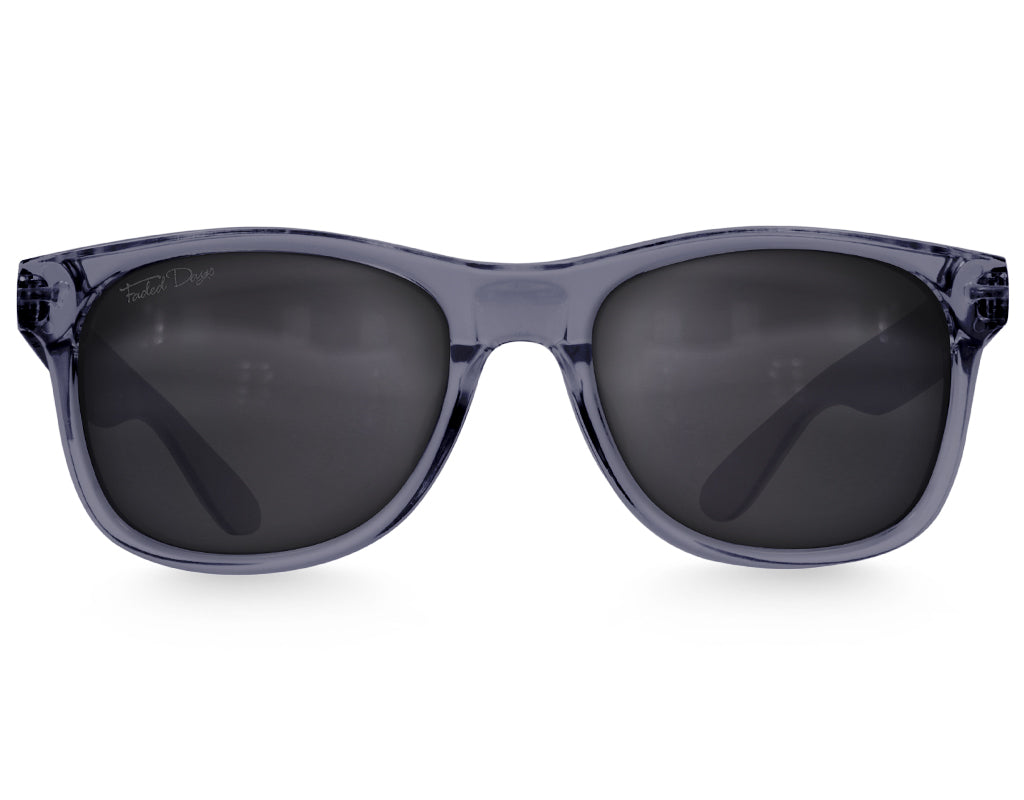 Crystal Slate Large Frame Sunglasses - Faded Days