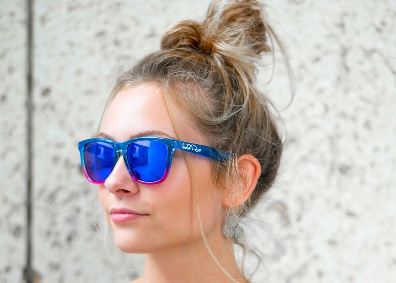 EDM Gem Mirrored Sunglasses - Faded Days