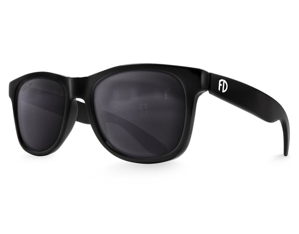 Black Large Frame Sunglasses