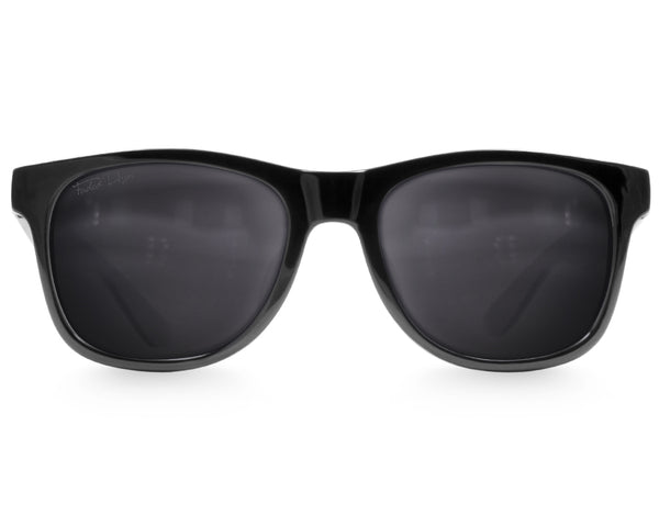 Black Extra Large Sunglasses - Faded Days