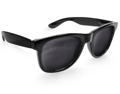 Polarized Black Large Frame Sunglasses - Faded Days