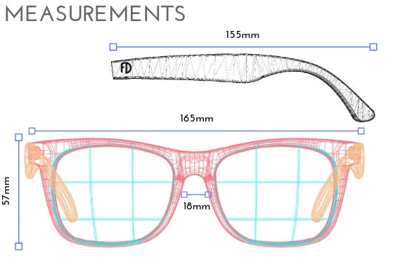 XXL Blue Light Blocking Clear Frame Extra Large Glasses