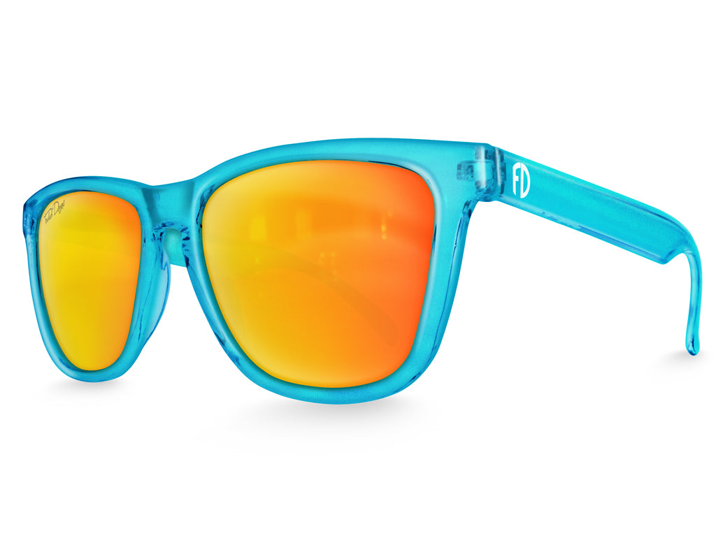 Neptune Solar Mirrored Sunglasses - Faded Days