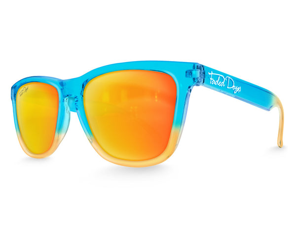Neptune Sunset Mirrored Sunglasses