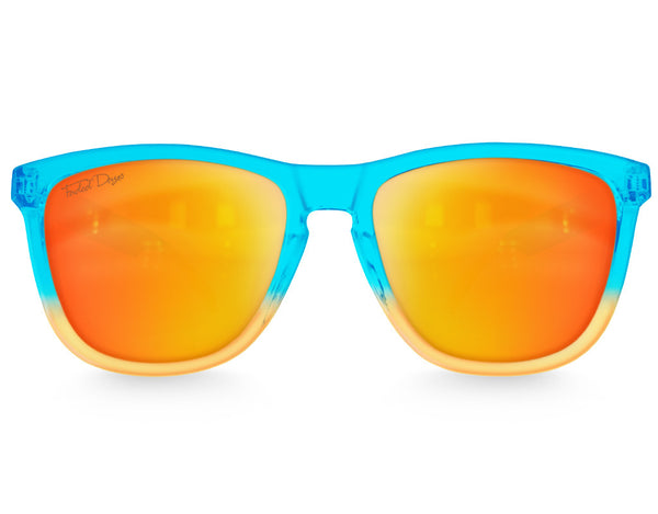 Neptune Sunset Mirrored Sunglasses - Faded Days