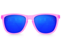Pink Haze Ice Mirrored Sunglasses - Faded Days