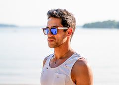 Polarized Tortoise Ice Sunglasses - Faded Days