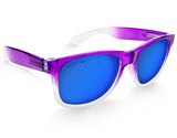 Purple Large Frame Sunglasses - Faded Days