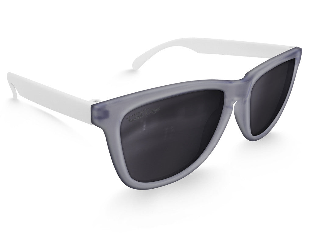 Polarized Slate Haze Sunglasses - Faded Days