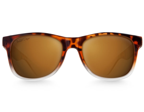 Faded Tortoise Large Frame Sunglasses - Faded Days