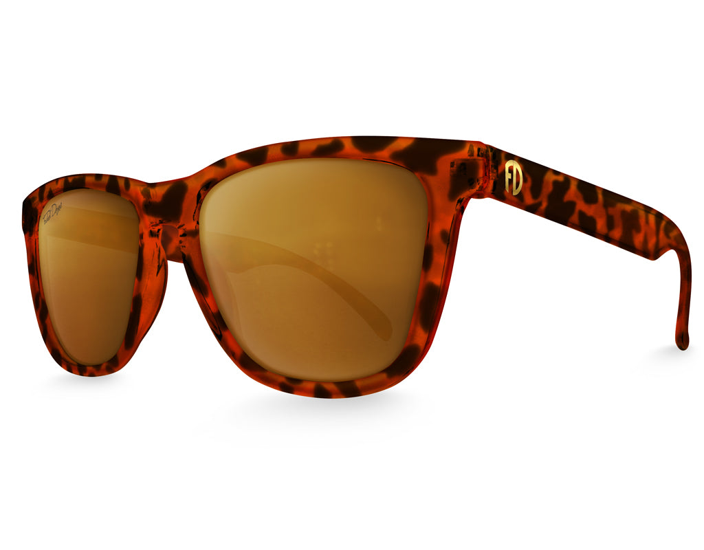 Polarized Tortoiseshell Sunglasses - Faded Days