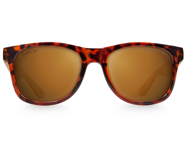 Tortoise Large Frame Sunglasses - Faded Days