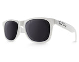 White Extra Large Sunglasses - Faded Days