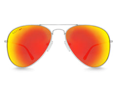 Sunset Aviator Sunglasses - Faded Days