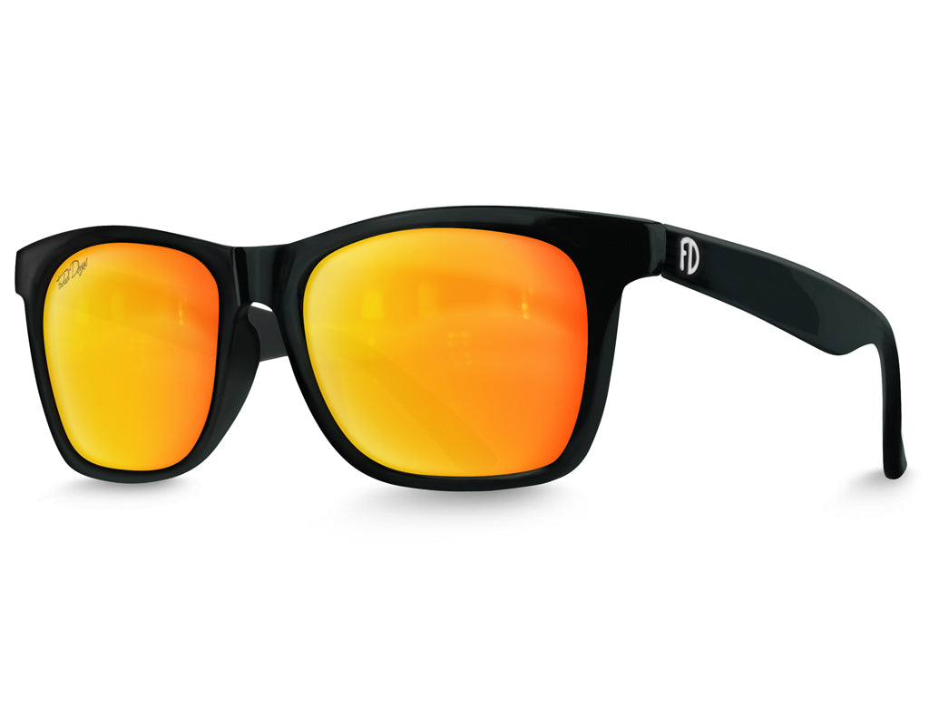 XXL Polarized Yellow Lens Sunglasses For Wide Heads