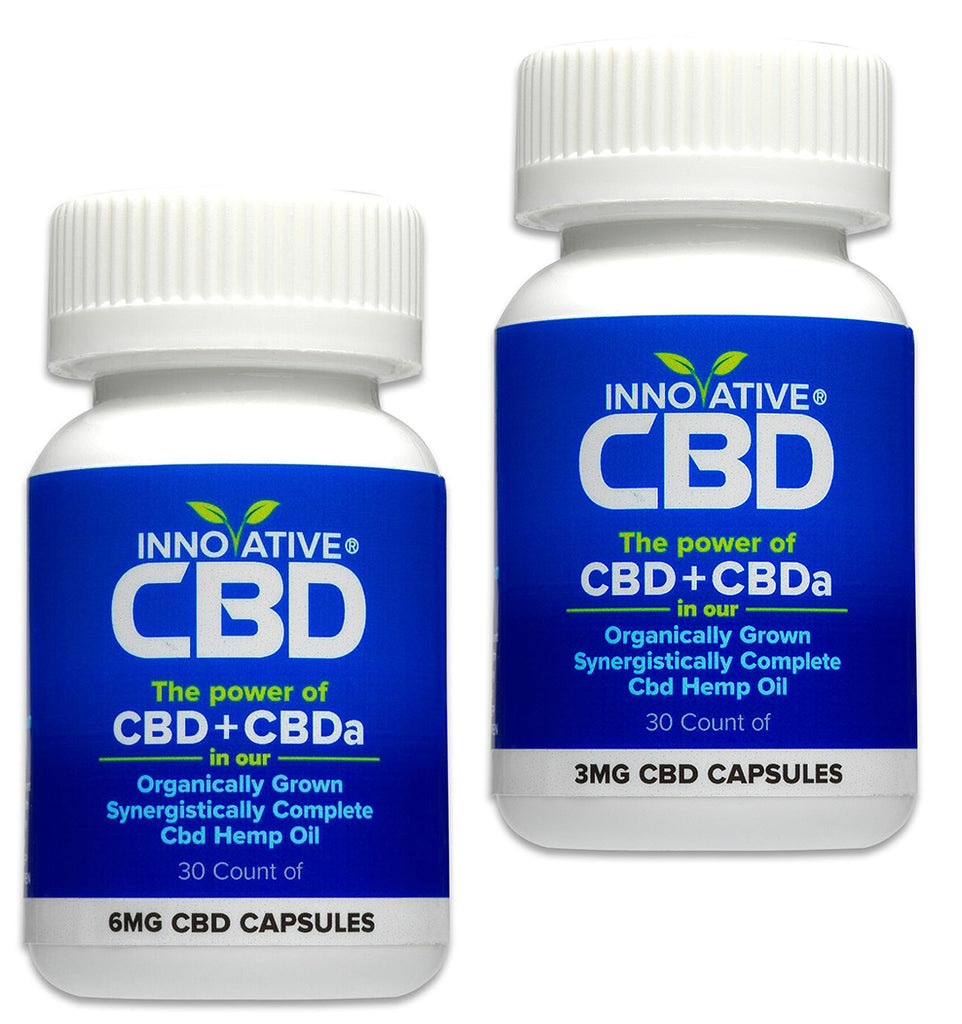 Full-Spectrum CBD Oil Capsules, Premium Hemp Extract