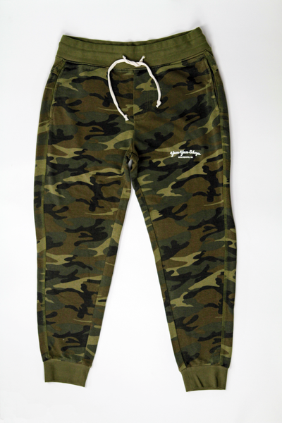 z Men's Camo Green Jogger Pants